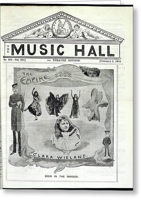 Clara Wieland Greeting Card by British Library