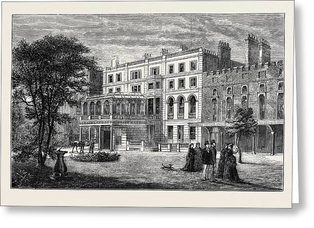 Clarence House, Town Residence Of The Duke And Duchess Greeting Card