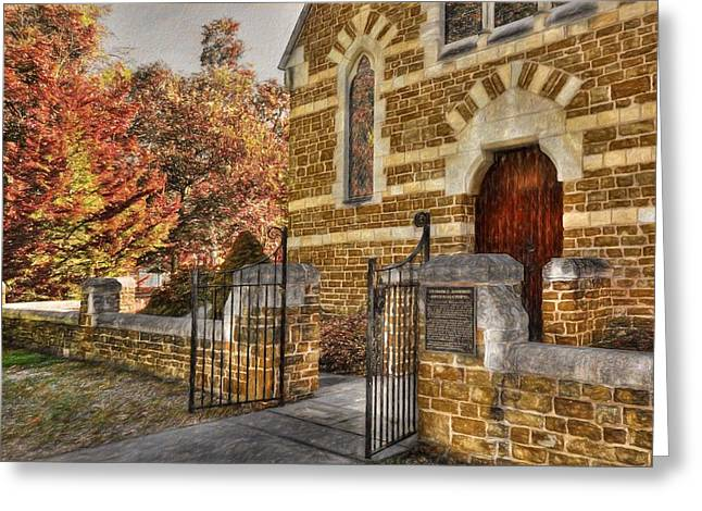 Clarice Osborne Memorial Chapel  Greeting Card by L Wright
