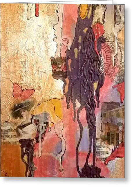 Clarity With A Hint Of France Greeting Card by Jan Steadman-Jackson