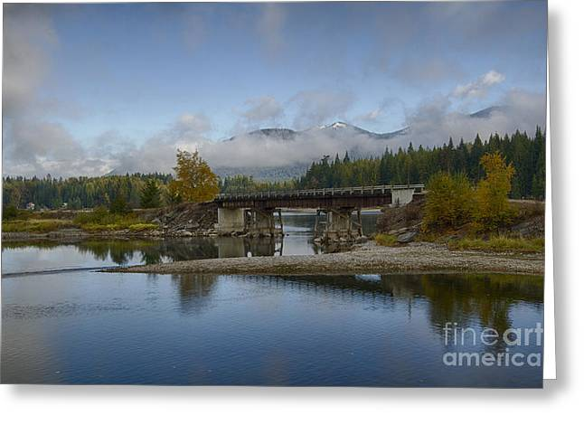 Clark Fork Delta Greeting Card by Idaho Scenic Images Linda Lantzy