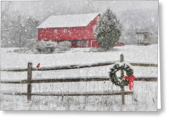 Clarks Valley Christmas 2 Greeting Card by Lori Deiter