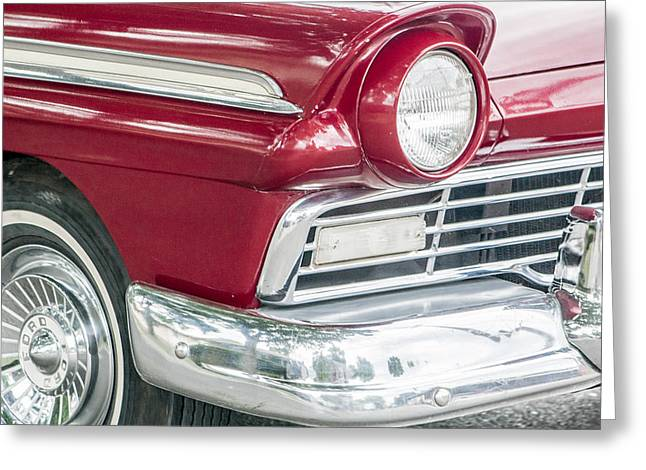 Greeting Card featuring the photograph Classic 50s Style by Dawn Romine
