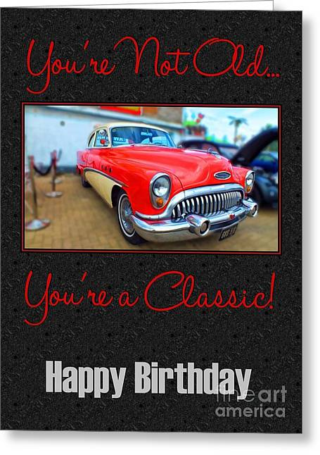 Classic Birthday Greeting Card
