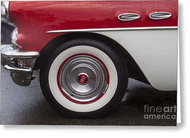 Classic Buick Greeting Card by Darleen Stry
