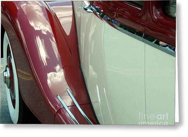 Classic Car Fender Greeting Card