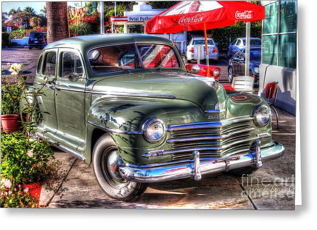 Classic Car Greeting Card by Kevin Ashley