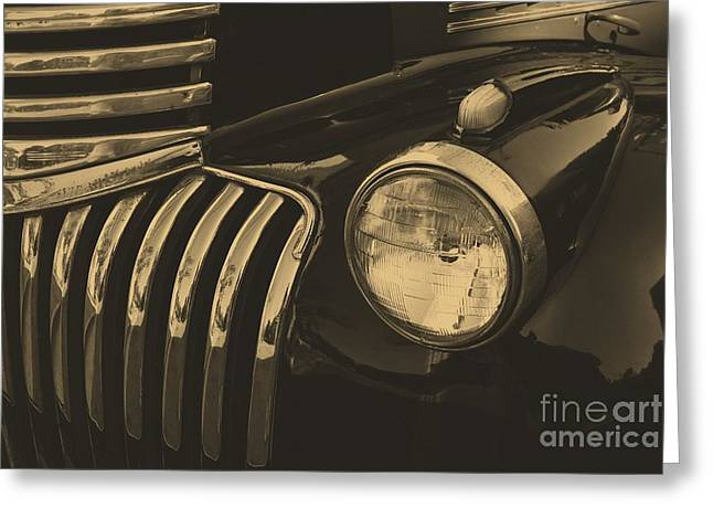 Greeting Card featuring the photograph Classic Chevy One by John S