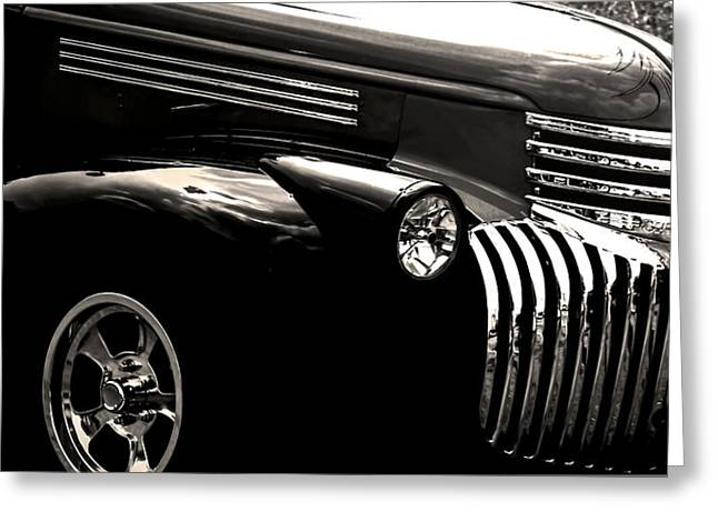 Classic Chevy Truck Greeting Card by Optical Playground By MP Ray