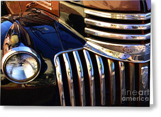 Greeting Card featuring the photograph Classic Chevy Two by John S