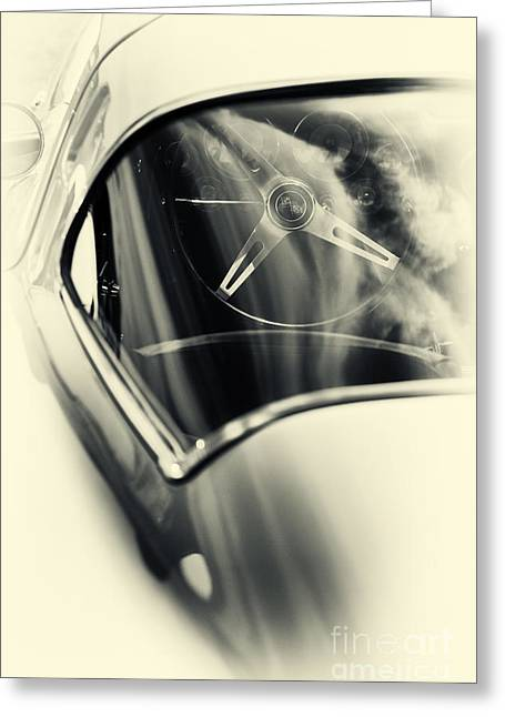 Classic Corvette  Greeting Card