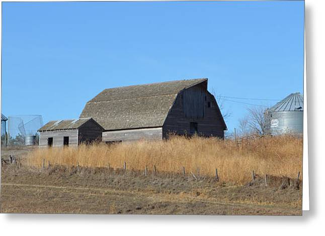 Classic Country Barn Greeting Card