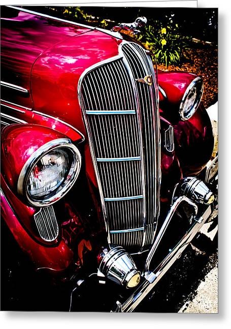 Greeting Card featuring the photograph Classic Dodge Brothers Sedan by Joann Copeland-Paul