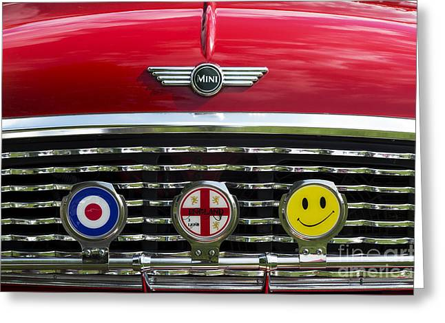 Classic English Mini Greeting Card by Tim Gainey