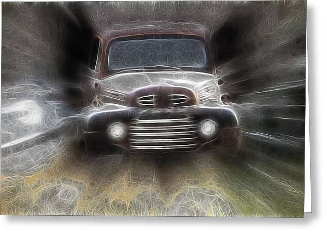 Classic Ford Truck Greeting Card by Steve McKinzie