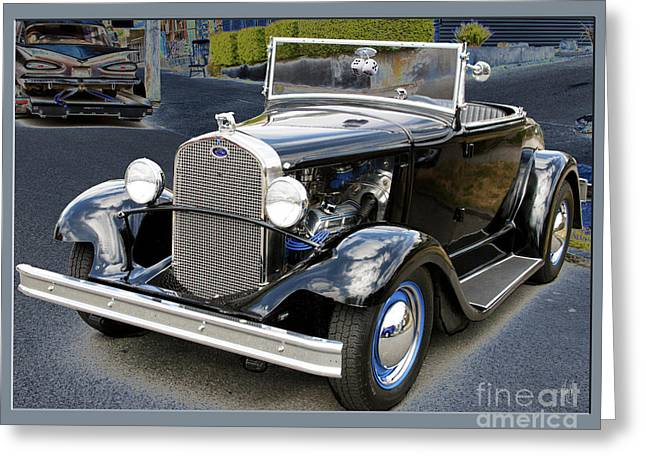 Greeting Card featuring the photograph Classic Ford by Victoria Harrington