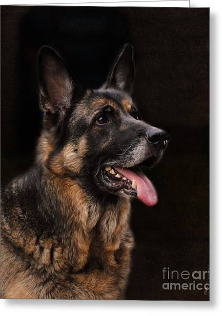 Classic German Shepherd Greeting Card