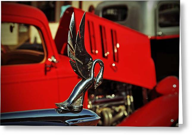 Classic Hood Ornament  Greeting Card