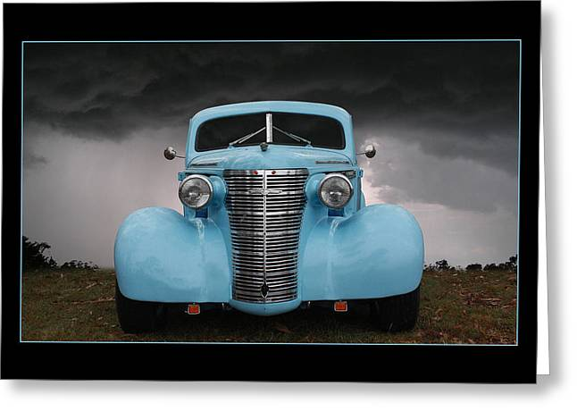 Greeting Card featuring the photograph Classic In Blue by Keith Hawley