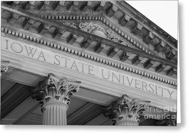 Classic Iowa State University Greeting Card by University Icons