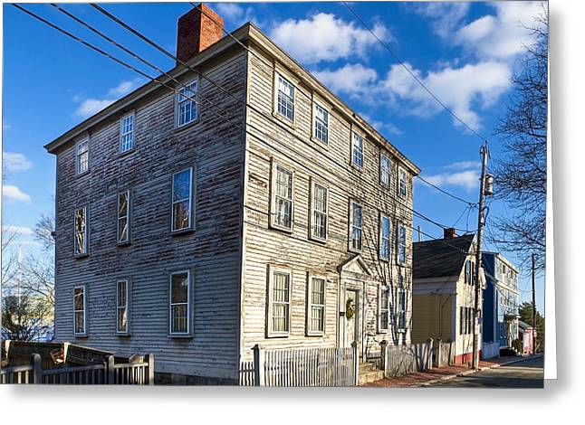Classic New England Architecture Greeting Card by Mark E Tisdale