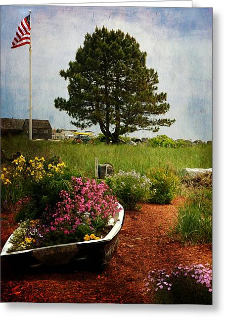 Classic New England Greeting Card by Tricia Marchlik