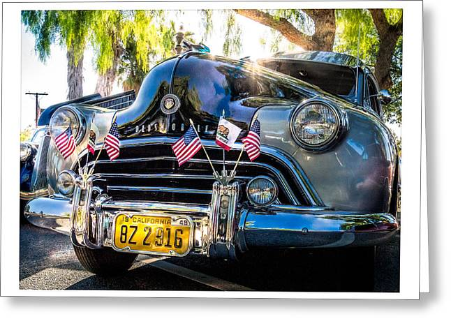 Greeting Card featuring the photograph Classic Oldsmobile by Steve Benefiel