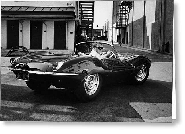 Classic Steve Mcqueen Photo Greeting Card