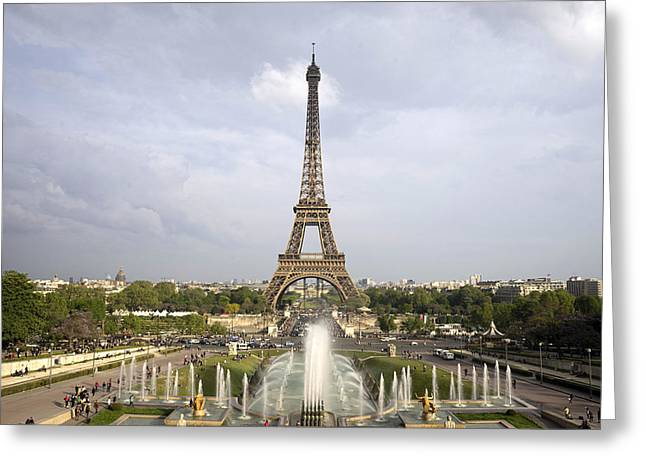 Classic View Of Paris Greeting Card