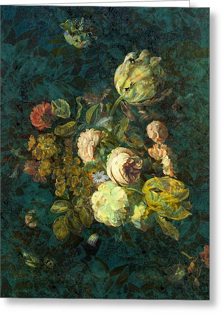 Classical Bouquet - S04bt01 Greeting Card