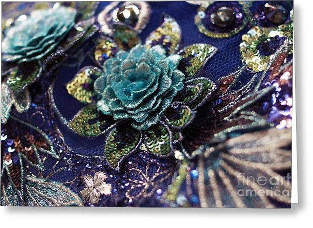 Classically Costumed Xvii Greeting Card by Cassandra Buckley