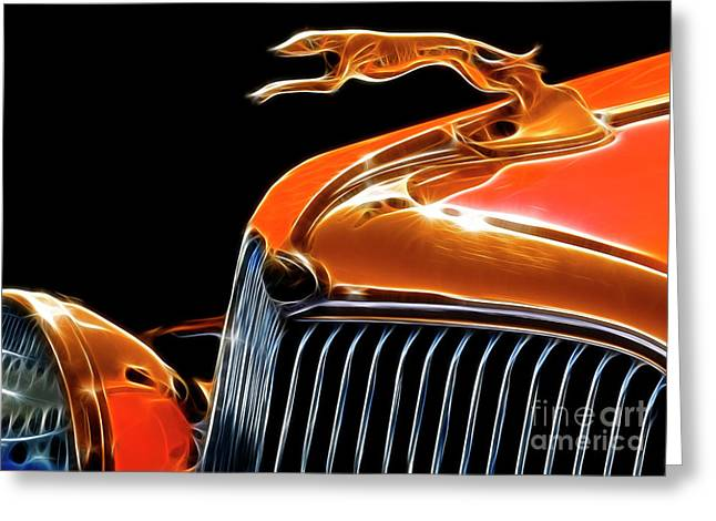 Classy Classic  Greeting Card by Bob Christopher