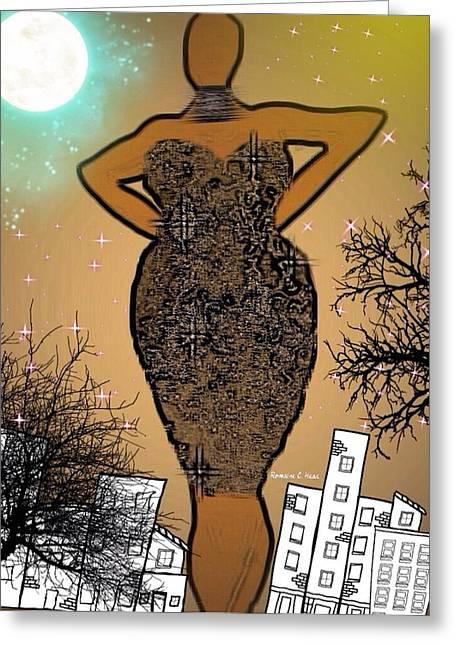 Classychic Greeting Card