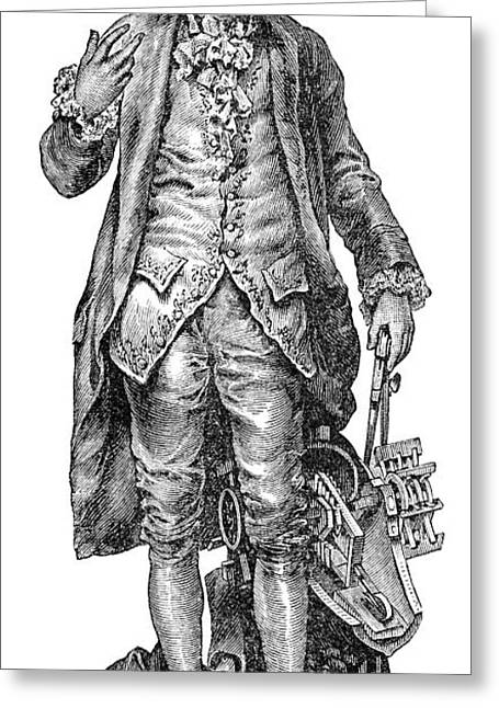 Claude De Jouffroy, French Engineer Greeting Card by Spl