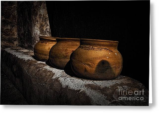 Clay Pots  ... Greeting Card