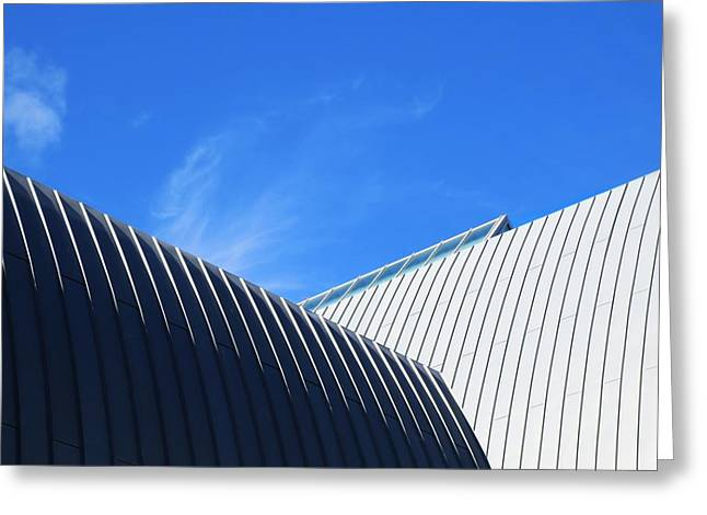Clean Lines - Architectural Photography By Sharon Cummings  Greeting Card by Sharon Cummings
