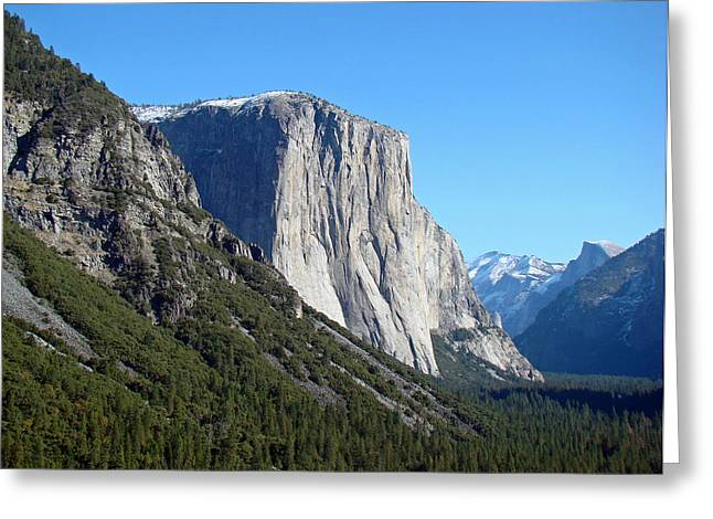 Greeting Card featuring the photograph Eternal Yosemite by Walter Fahmy