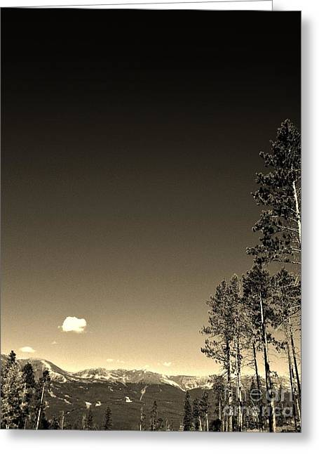 Clear Colorado Skies Greeting Card by Garren Zanker