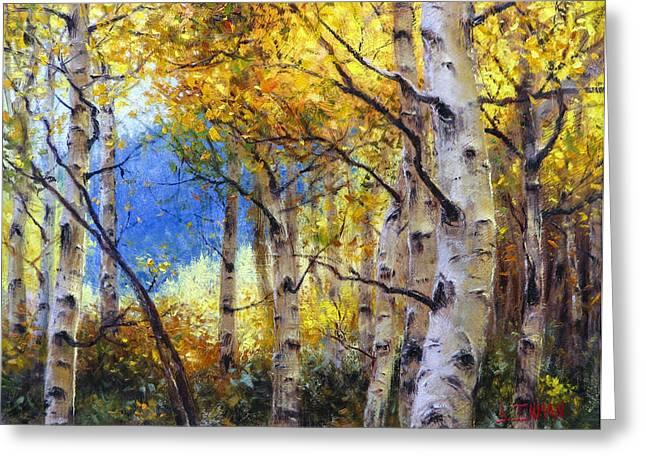 Clear Skies Greeting Card by Bill Inman