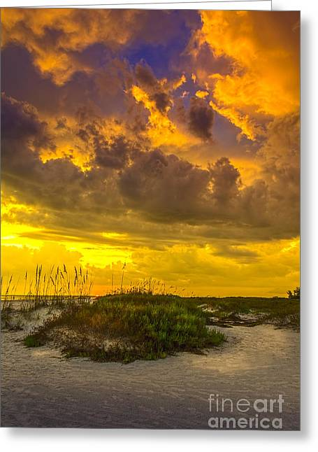Clearing Skies Greeting Card by Marvin Spates