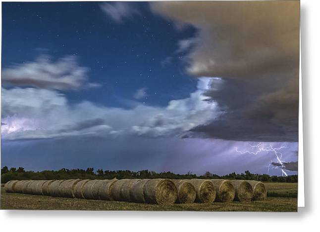 Greeting Card featuring the photograph Clearing Storm by Rob Graham