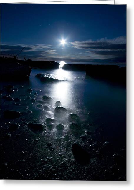 Clearville Moonrise Greeting Card by Cale Best