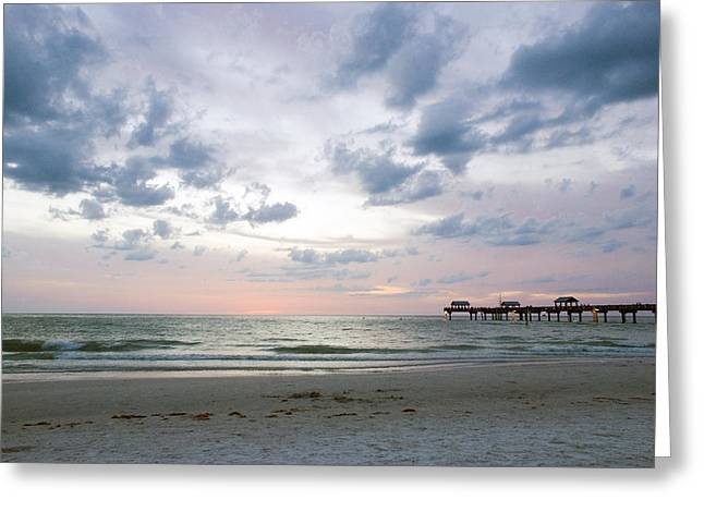 Clearwater Fishing Pier Greeting Card