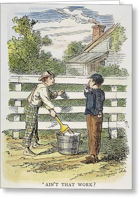 Clemens Tom Sawyer, 1876 Greeting Card by Granger
