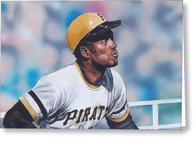 Clemente Greeting Card by D A Nuhfer