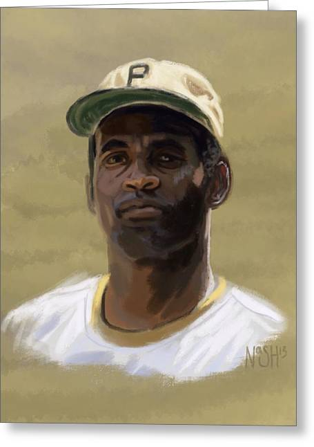 Clemente Greeting Card by Jeremy Nash