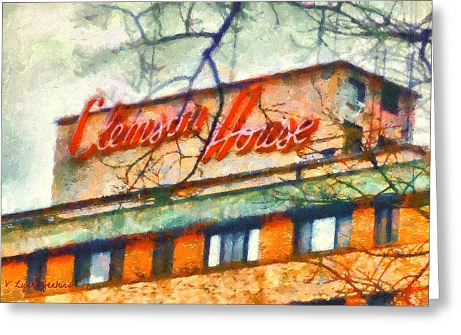 Clemson House Greeting Card