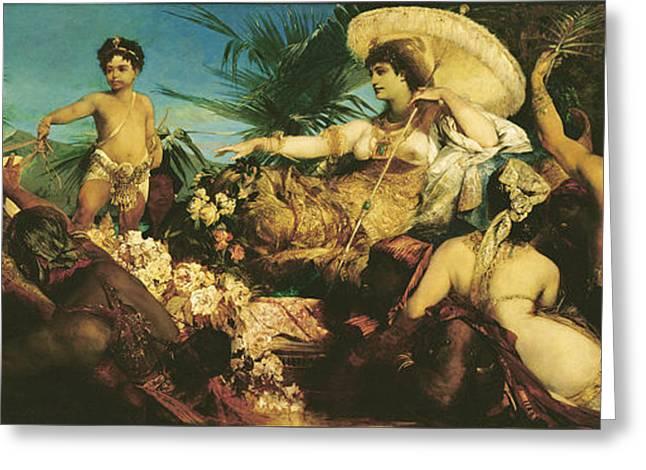 Cleopatra, 1875  Greeting Card
