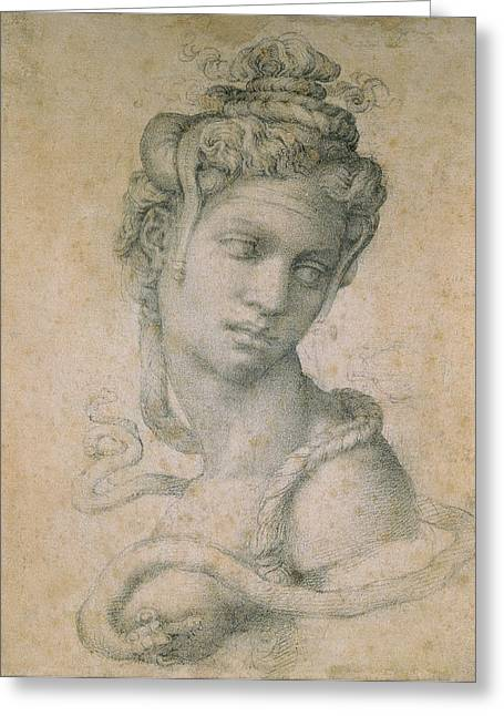 Cleopatra Greeting Card by Michelangelo
