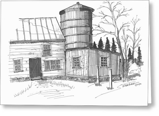 Clermont Barn 1 Greeting Card